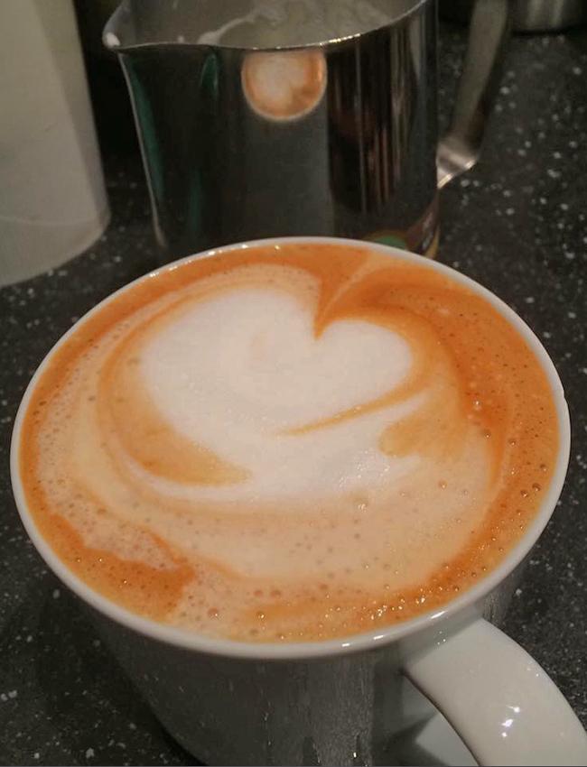 Owl Cafe Latte