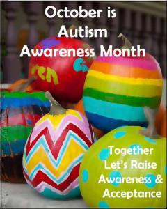 October is Autism Awareness Month in Canada